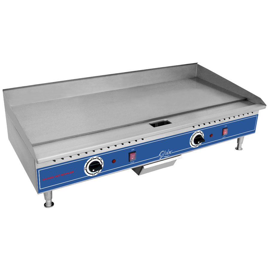 Globe PG36E 36-in Countertop Griddle w/ 3/8-in Steel Plate, 208/240/1 V