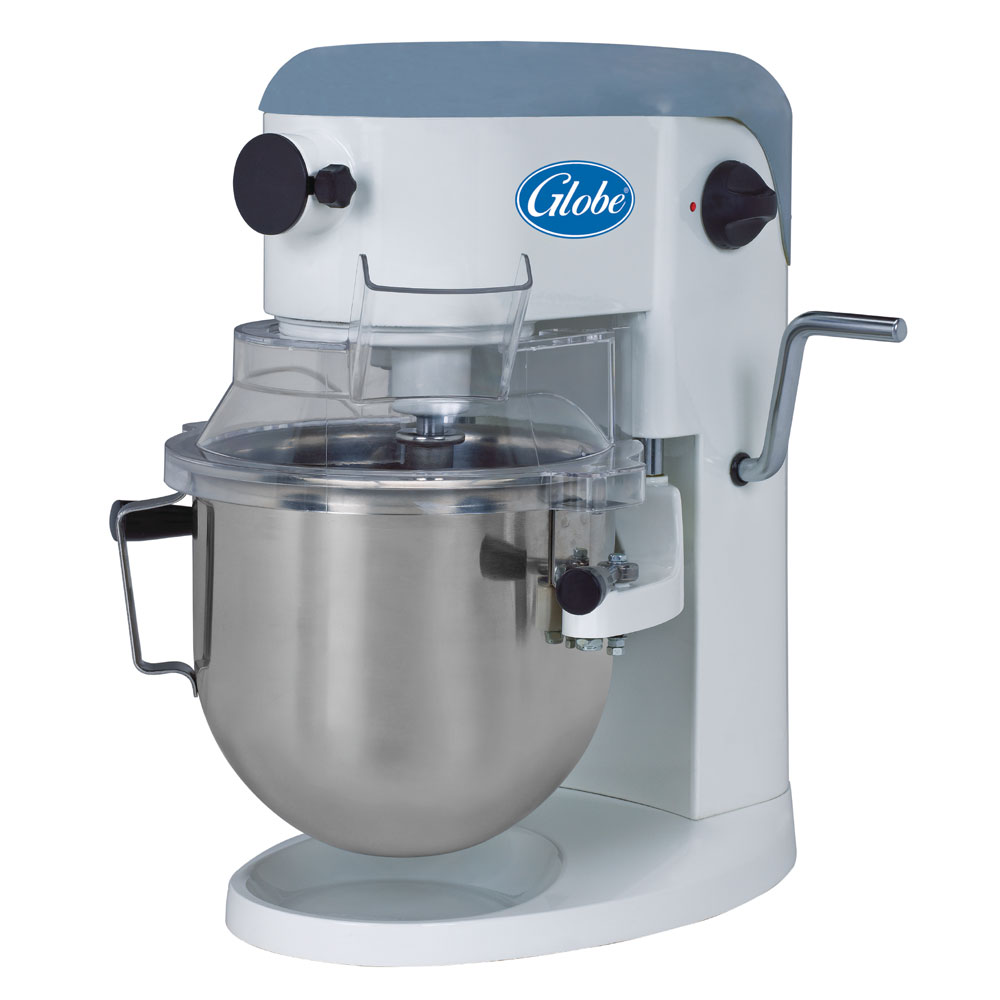 Globe SP5 5-Qt Mixer w/ Bowl, Dough Hook, Wire Whip, Flat Beater, Cover