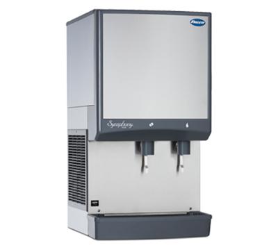 FOLLETT 50CI425A-L 425-lb Nugget Ice & Water Dispenser w/50-lb Bin, Air Coo