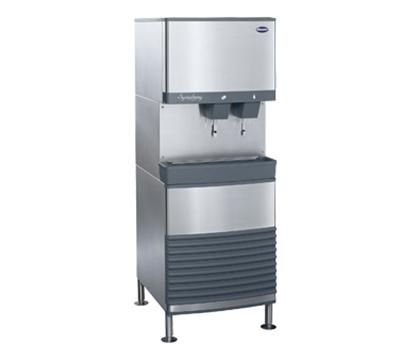 FOLLETT 50FB425A-L 425-lb Nugget Ice & Water Dispenser w/50-lb Bin, Air Cooled, 115v