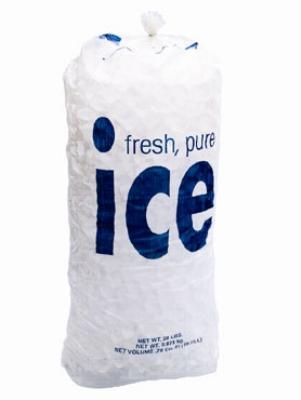 FOLLETT 00138370 20-lb Ice Bags w/ 2.25-mil, Poly