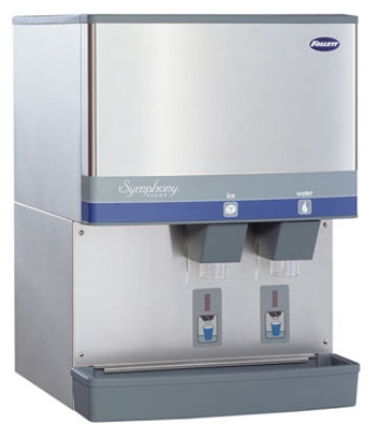 FOLLETT 110CM-SI Ice Dispenser w/ SensorSAFE & 110-lb Storage Capacity, Manual Load, 115 V