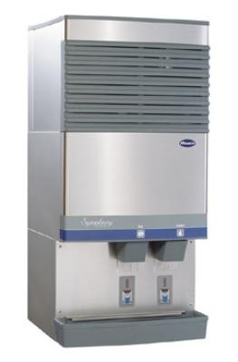 FOLLETT 110CT400A-S 400-lb Ice & Water Dispenser w/ SensorSafe, 90-lb Bin