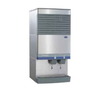 FOLLETT 110CT400W-L 400-lb Ice & Water Dispenser w/ Lever, Top Mount, 90-lb Bin