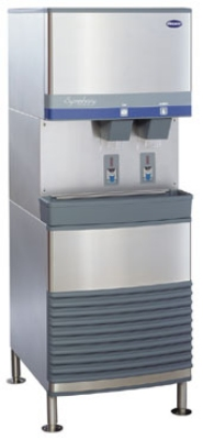 FOLLETT 110FB400A-S Air-Cooled Ice & Water Dispenser w/ SensorSafe, 400-lb Day