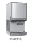 FOLLETT 25CI400W-S Countertop Ice Water Dispenser w/ 400-lb Day, 25-lb Bin, Water-Cooled