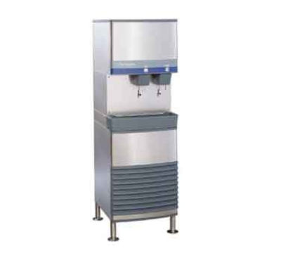 FOLLETT 50FB400W-L Freestanding Ice Water Dispenser w/ 400-lb Day, 50-lb Bin, Water-Coo