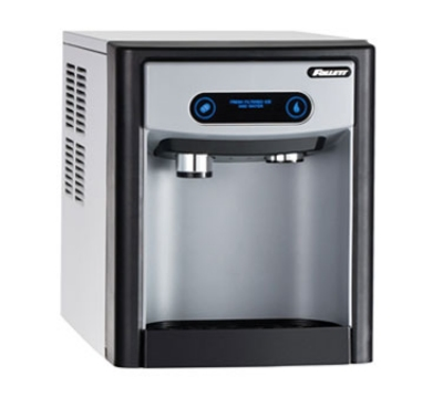 FOLLETT 7CI100AIWNFST00 Nugget Ice & Water Dispenser, Push Button, 7-lb Storage, 125-lb/24-Hr 115 V