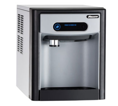 FOLLETT 7CI100ANWNFST00 Nugget Ice Dispenser, Push Button, 7-lb Storage Capacity, 125-Lb/24-Hr, 115 V