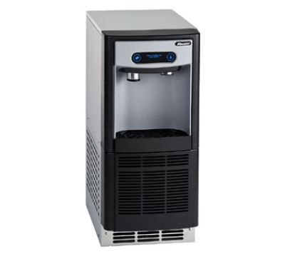 FOLLETT 7UC100AIWNFST00 Nugget Ice & Water Dispenser, Air-Cooled, 7-lb Storage, 125-lb/24-Hr, 115 V
