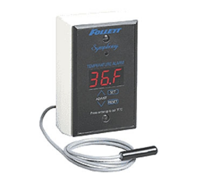 FOLLETT 00112185 Temperature Alarm w/ Audible & Visual,