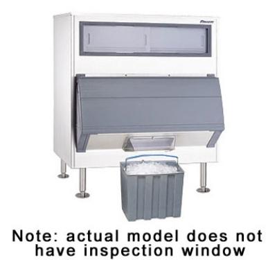 FOLLETT DEV1325SG-60-LP Low Profile Ice-Device w/ 1325-lb bin, Chuted, Cube Or Chewblet