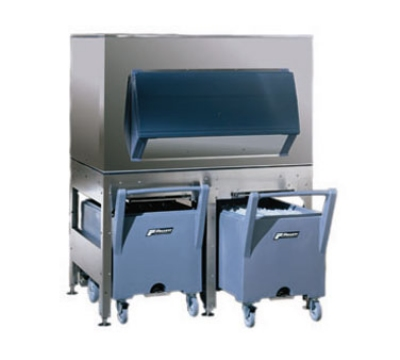 FOLLETT ITS2250SG-60 Elevated Ice Storage & Transport System w/ 2105-lb Bin, 2-Poly Carts