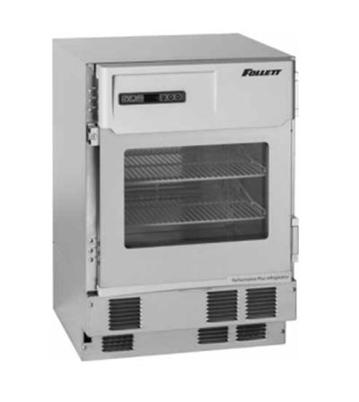 FOLLETT REF4P-00-000 23.75-in Undercounter Medical-Grade Refrigerator w/ Shelves