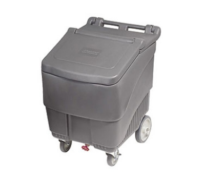 FOLLETT SMARTCART125 22.5-in Insulated Ice Cart w/ 125-lb Capacity, Flip-Up Lid