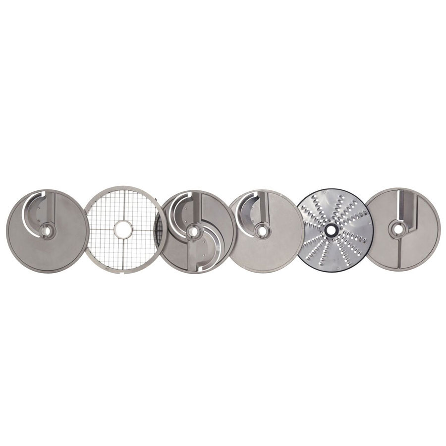 Hobart 3PLATE-6PACK-SSP 6-Plate Pack For FP400 Food Processors