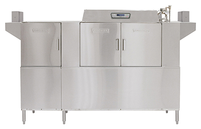 Hobart CLPS86E+BUILDUP Conveyor Dishwasher w/ 2-Tanks