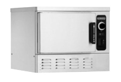 Hobart HC24EA3-3 2403 1-Compartment Countertop Convection Steamer (3)12x20x2.5-in Pan Capacity, 240/3V