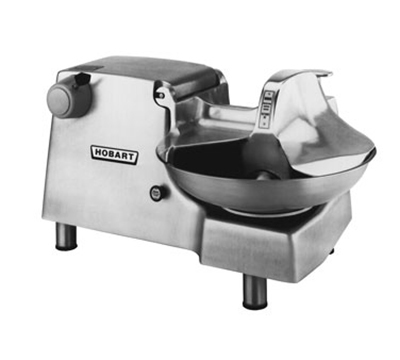 Hobart 84186-5 Food Cutter w/ #12 Attachment Hub & 18-in Stainless Bowl, 460/3 V