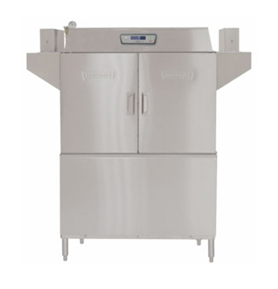 Hobart CL44E-8 Left To Right 30-kW Booster Conveyor Dishwasher, 202-Rack/Hr, 208/3 V