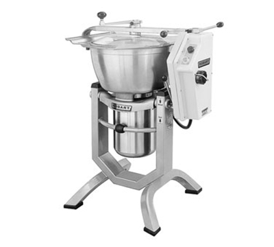 Hobart HCM450-20 45-qt Cutter Mixer w/ Stainless Tilting Bowl & 5-HP Motor, Export