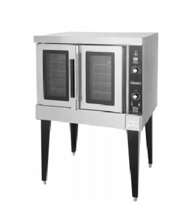 Hobart HEC502-240V Double Full Size Electric Convection Oven - 240/1v