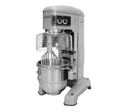 Hobart HL1400-1STD 140-qt Planetary Mixer w/ 4-Fixed Speeds & Stainless Bowl, 200-240/3 V