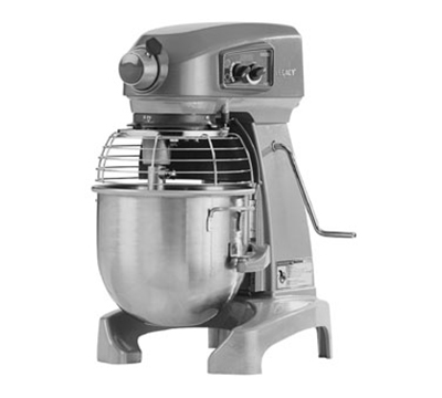 Hobart HL200-51STD 20-Quart Floor Mixer w/ 3-Fixed Speeds, Smart Timer & Bowl Lift, Export
