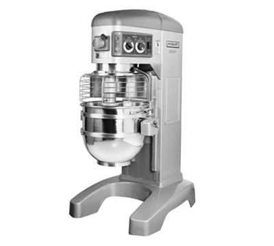 Hobart HL600-80STD 60-qt Planetary Mixer w/ 4-Speeds & 2.7-HP Motor, Export 230/1 V