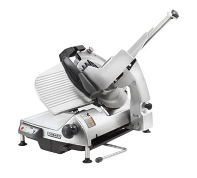 Hobart HS9-1 Heavy Duty Automatic Slicer 13-in Removable Knife Anodized Finish 6-Interlocks