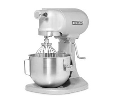 Hobart N50-619 5-qt Planetary Mixer w/ 3-Fixed Speeds & Manual Bowl Lift, Export