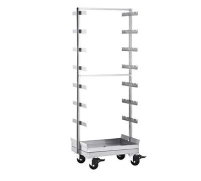Hobart ROLLSPT-7X2HR7 Roll In Out Spit Stand w/ Casters 7x2-ft