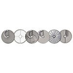 Hobart PLATE-6PACK-SSP 6-Plate Pack w/ 2 Wall Racks For FP100 Food Processor