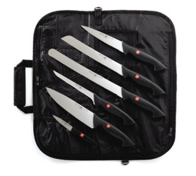 Wusthof 7707 7- Piece Pro Knife Set w/ Case & 6-Knives, Stamped Blades