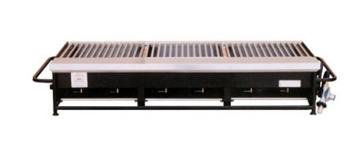 Big Johns Grills & Rotisseries A3P-LPCI 6-Burner Portable Gas Grill w/ Cast Iron Grates