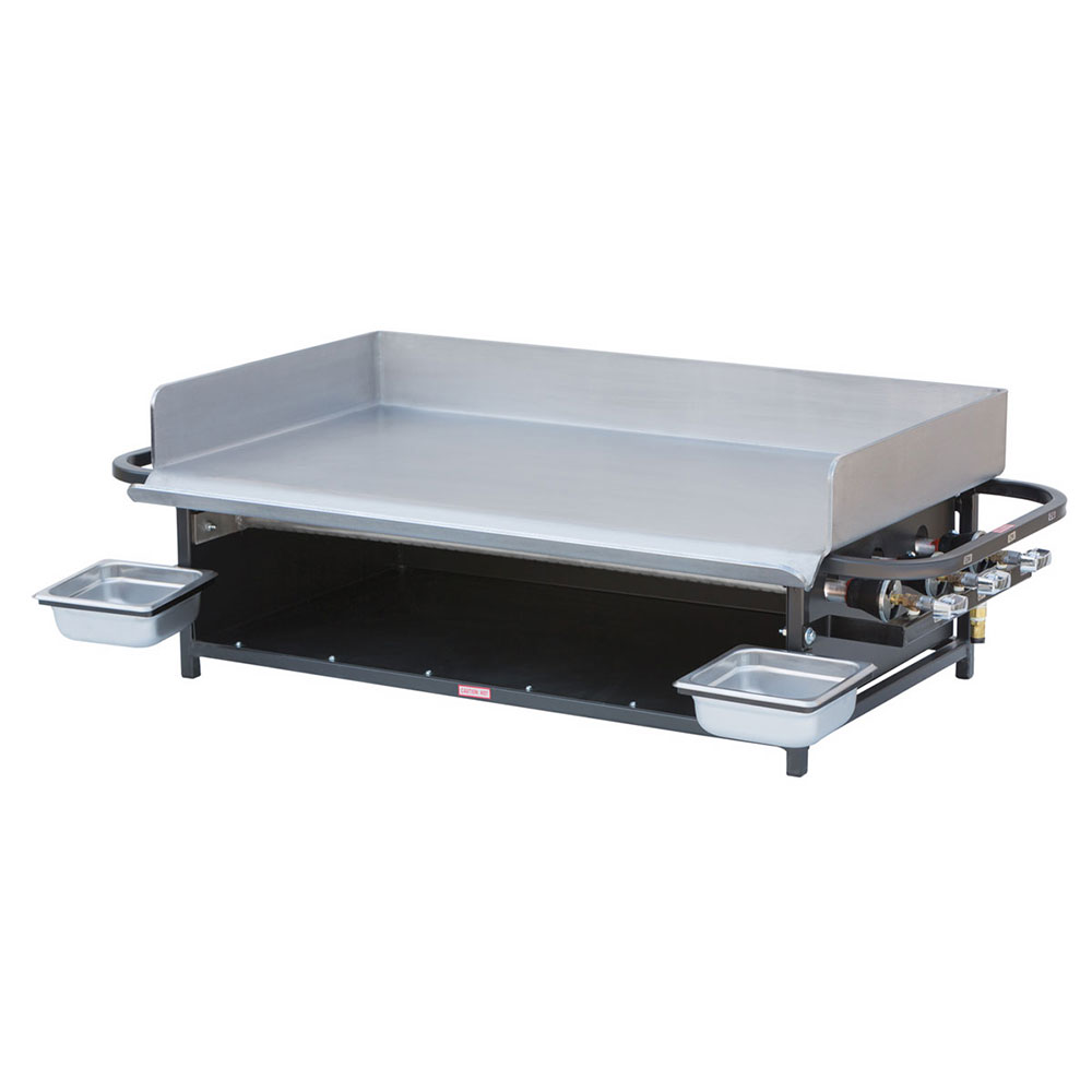 "Big Johns Grills & Rotisseries PG-36 20x36"" Portable Gas Griddle"