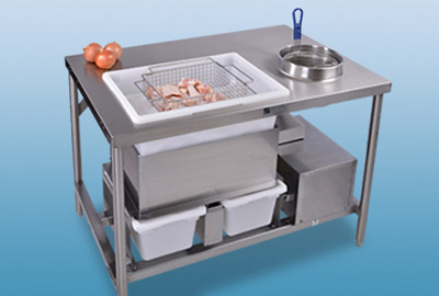 Bettcher Industries 100171 DuraSift Breading Table, 25-lbs Per Minute, Timer, Stainless
