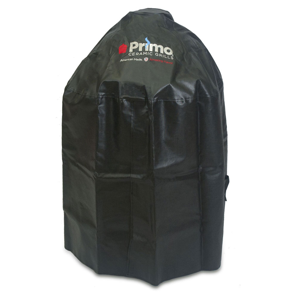 Primo Grills PRM409 Grill Cover For Oval XL Or Kamado In Cradle