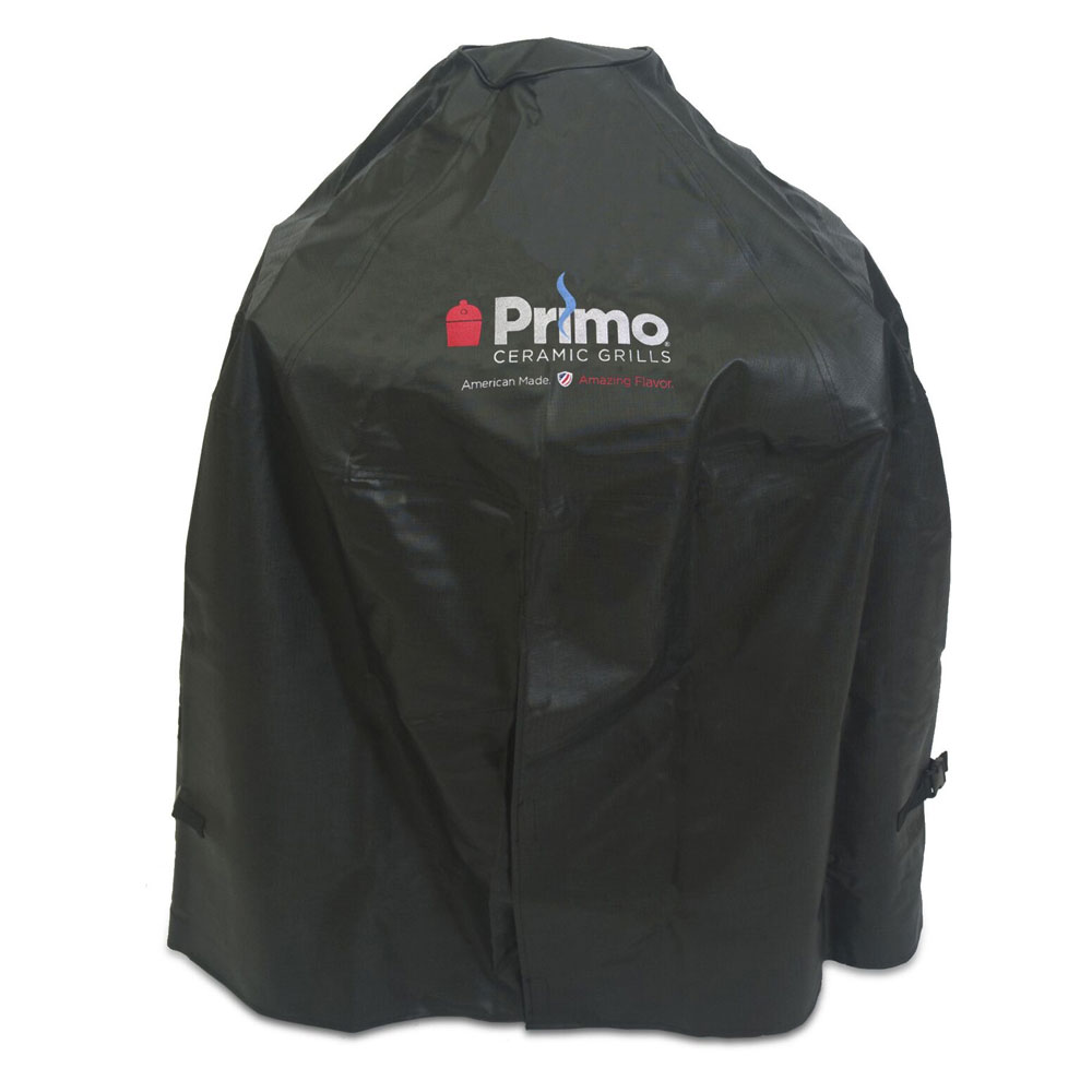 Primo Grills PRM413 Grill Cover For Oval Junior In Cradle