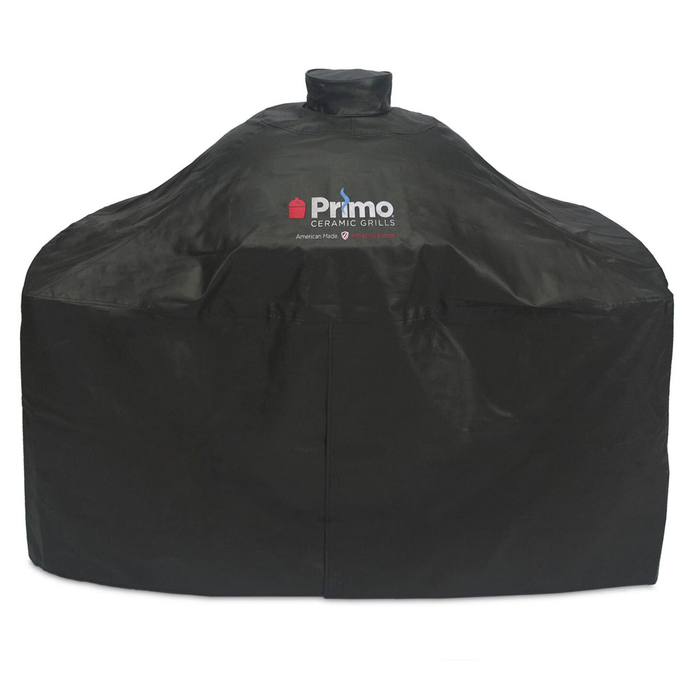 Primo Grills PRM414 Grill Cover For Oval XL In Compact Table Or Cart & Oval Junior In Table