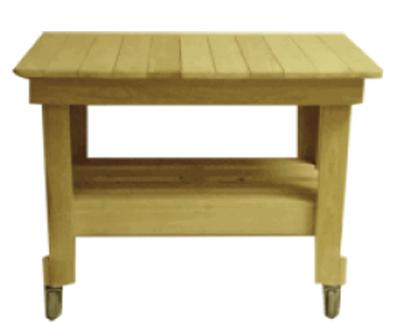 Primo Grills PRM607 Cypress Prep Table, 39 x 27 x 32-in