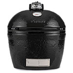 Primo Grills PRM775 Oval Grill - 300-sq in Cooking Surface, Black