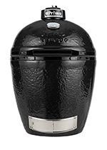 Primo Grills PRM779 Round Kamado Grill w/ 280-sq/in Cooking Surface, Black