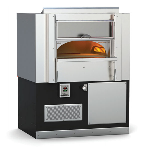 "Wood Stone FIREDECK6045 Gas Stone Hearth Deck Oven - 34x40"" Cooking Surface, Ceramic/Steel 160,000"