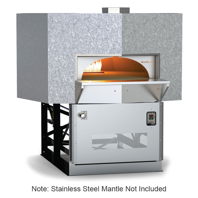 Wood Stone MTRAINIER7 Stone Hearth Oven - Cast
