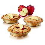 Libbey Glass 56237 8-Piece Just Baking 6-in Pie Set