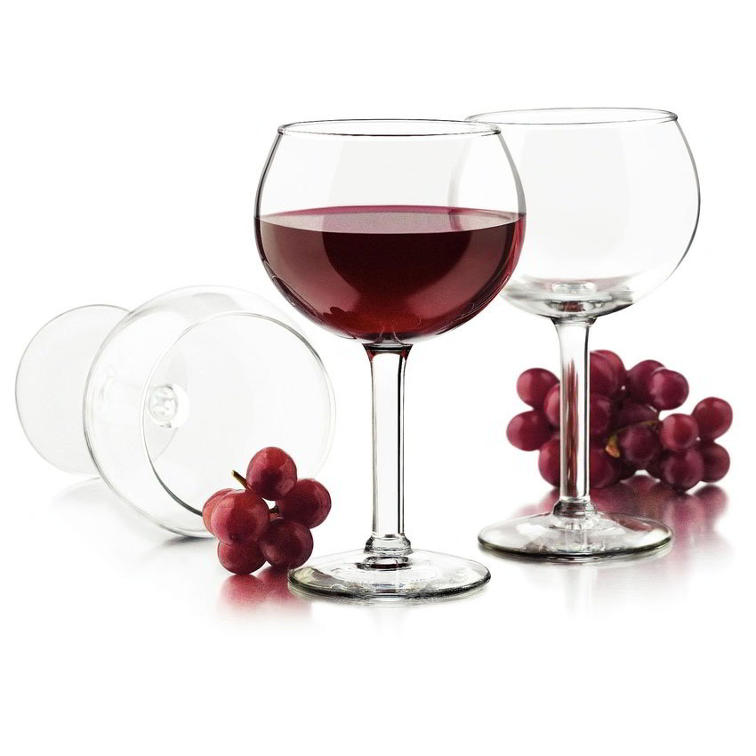 Libbey Glass 80457 Preston Red Wine Set w/ 4-Stemme