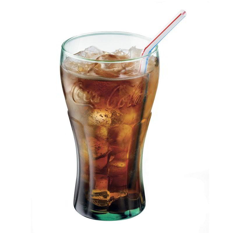 Libbey Glass 89596CC Genuine Coke Tumbler Set w/ 6-Gla