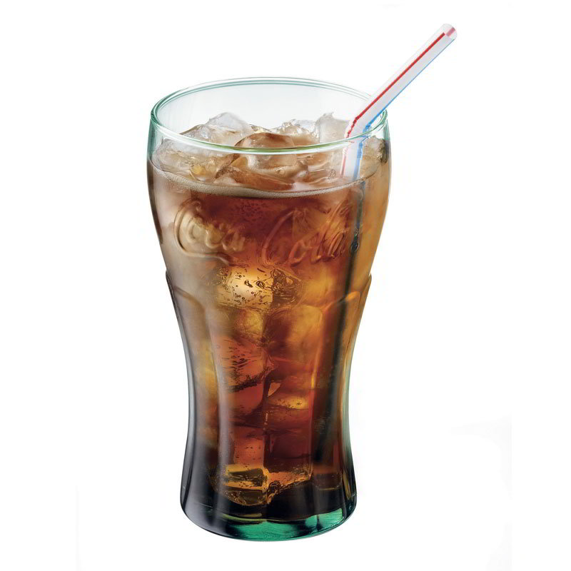 Libbey Glass 89596CC Genuine Coke Tumbler Set w/ 6-Glasses