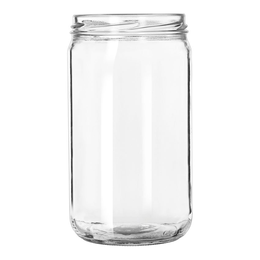 Libbey Glass 92105 24-oz Drinking Jar